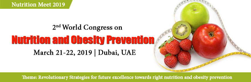 2nd World Congress on Nutrition and Obesity Prevention