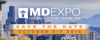 MD Expo 2018 will be held in Seattle, WA.
