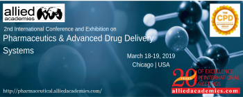 2nd International Conference & Exhibition on Pharmaceutics & Advanced Drug Delivery Systems